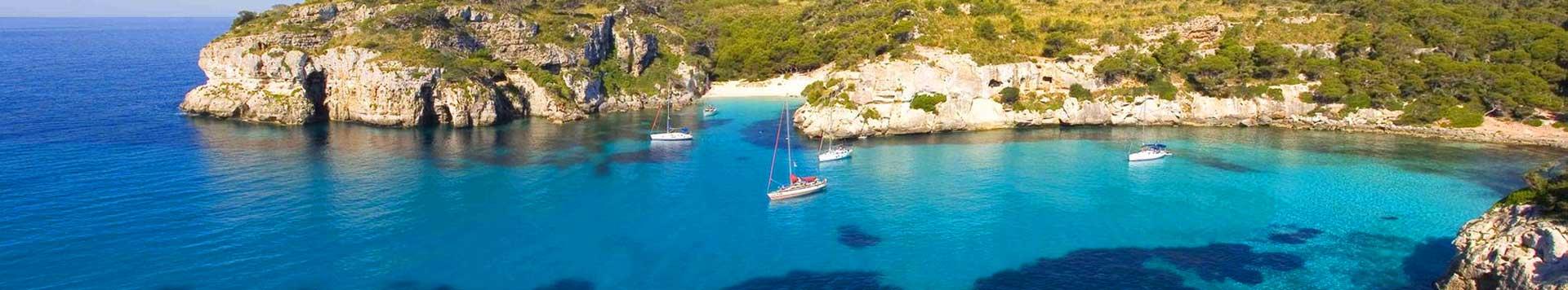 vacanza in barca a vela isole baleari, maiorca minorca, ibiza, formentera