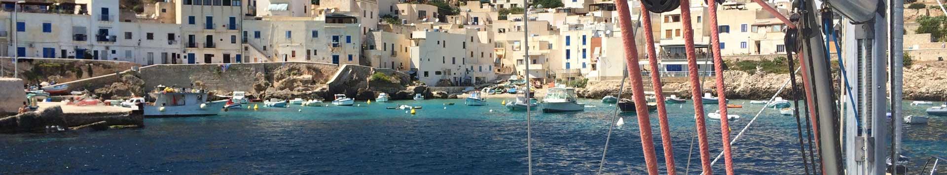 vacanza in barca a vela isole egadi