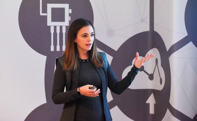 The first step to improving something is measuring it, says Alicia Asín, co-founder of Spanish technology company Libelium. Image credit  - Alicia Asin Perez