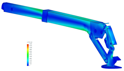 Modifications and finite element analysis for increasing safe working load of crane
