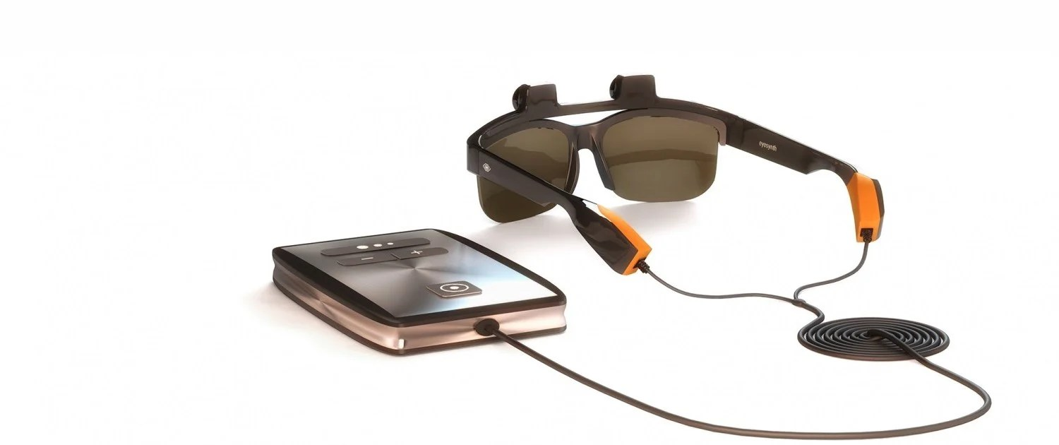 Eyesynth glasses