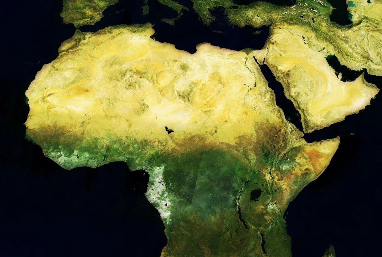Complex Earth observation data is being turned into real-time tools to help solve problems on the ground in Africa.