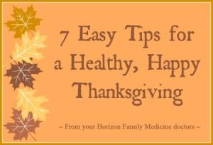 Horizon Thanksgiving
