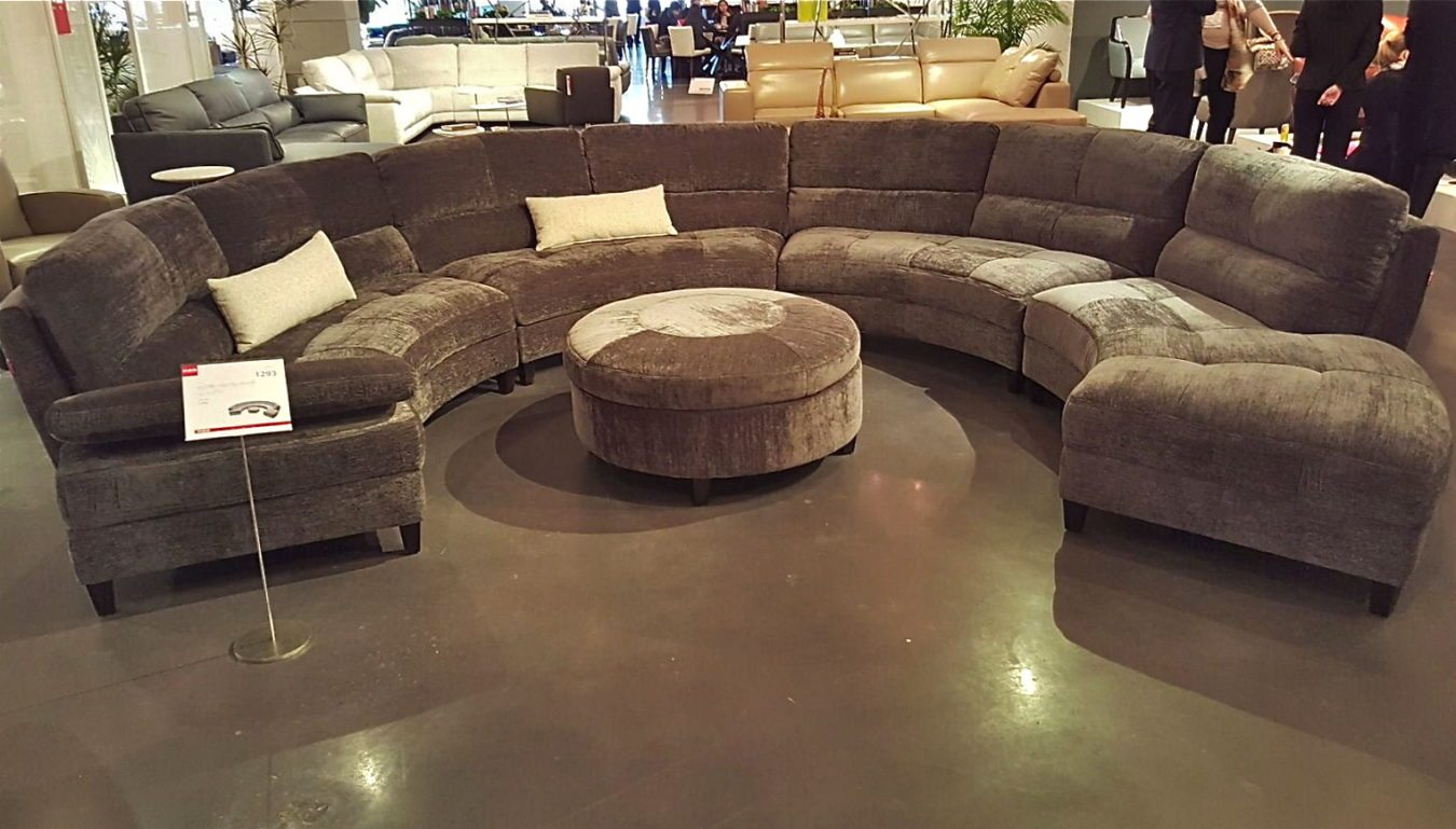 half circle sofas clasicos estilo ingles curves sectional horizon home furniture