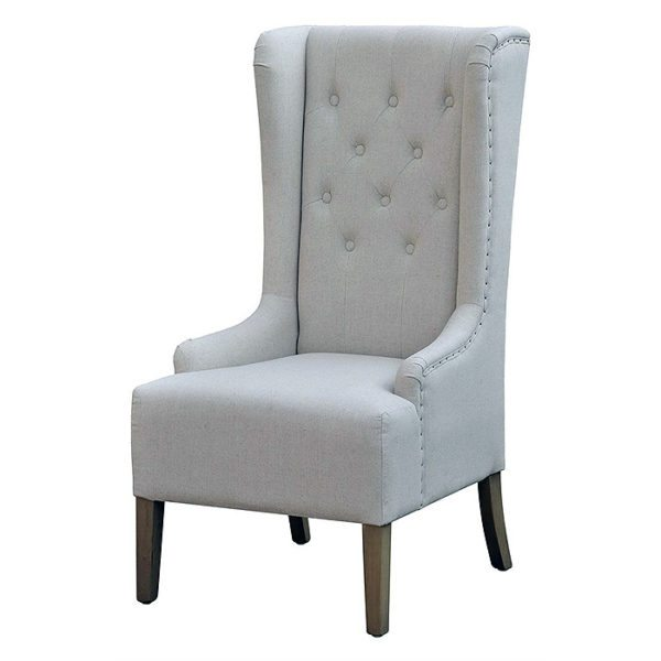 high back tufted chair covers gladstone winged occasional horizon home furniture shop living room chairs