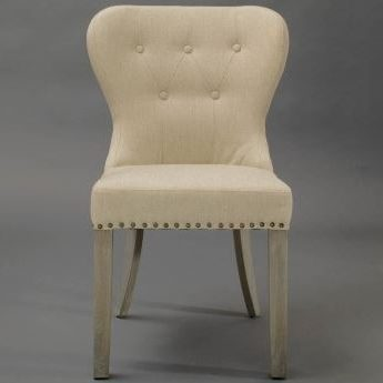 upholstered chair with nailhead trim chairs used for sale tan paulie dining horizon home furniture shop