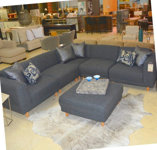 Grey Modern Sectional Sofas