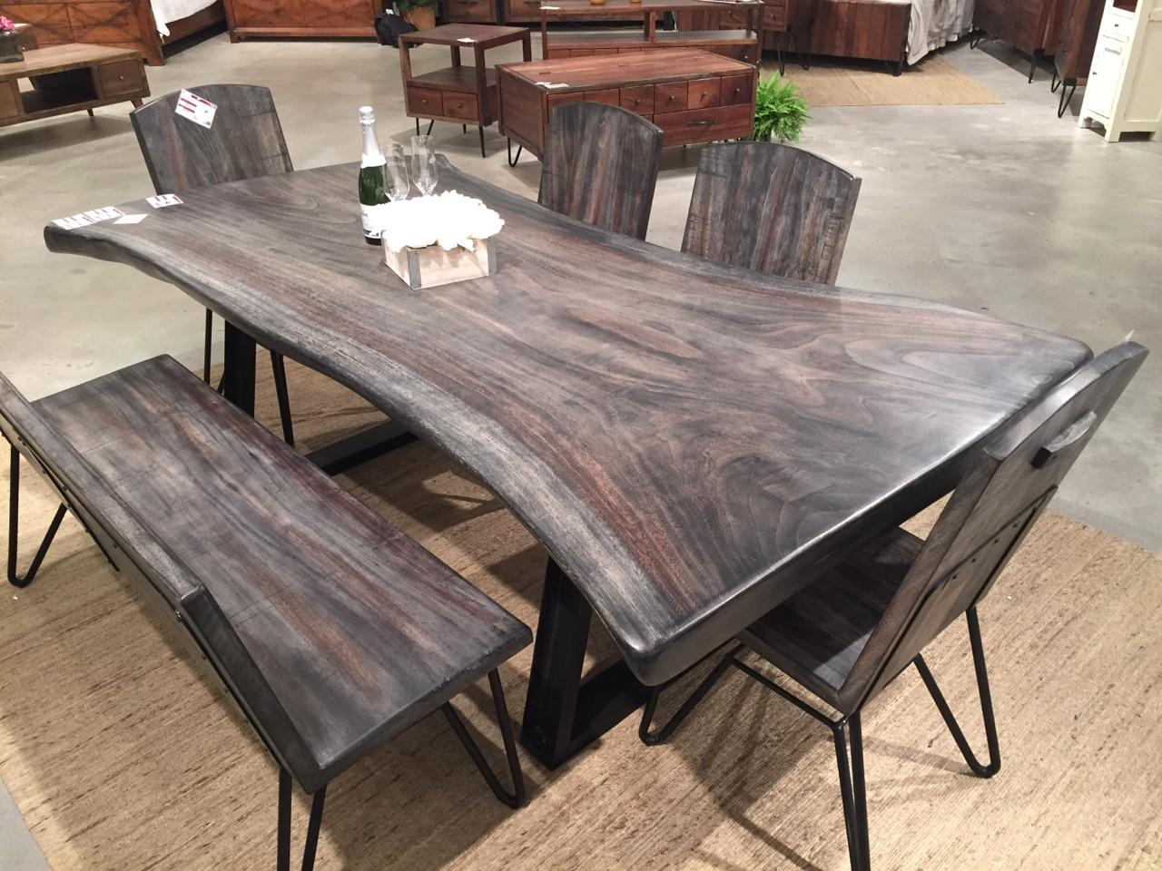 Live Edge Walnut Table Horizon Home Furniture