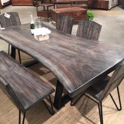 Black Walnut Kitchen Table Wire Shelves Dining Room Prices Talentneeds