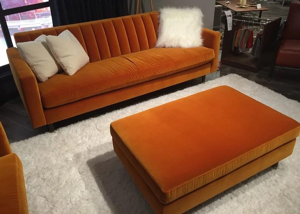 Monza Sofa And Ottoman Horizon Home Furniture