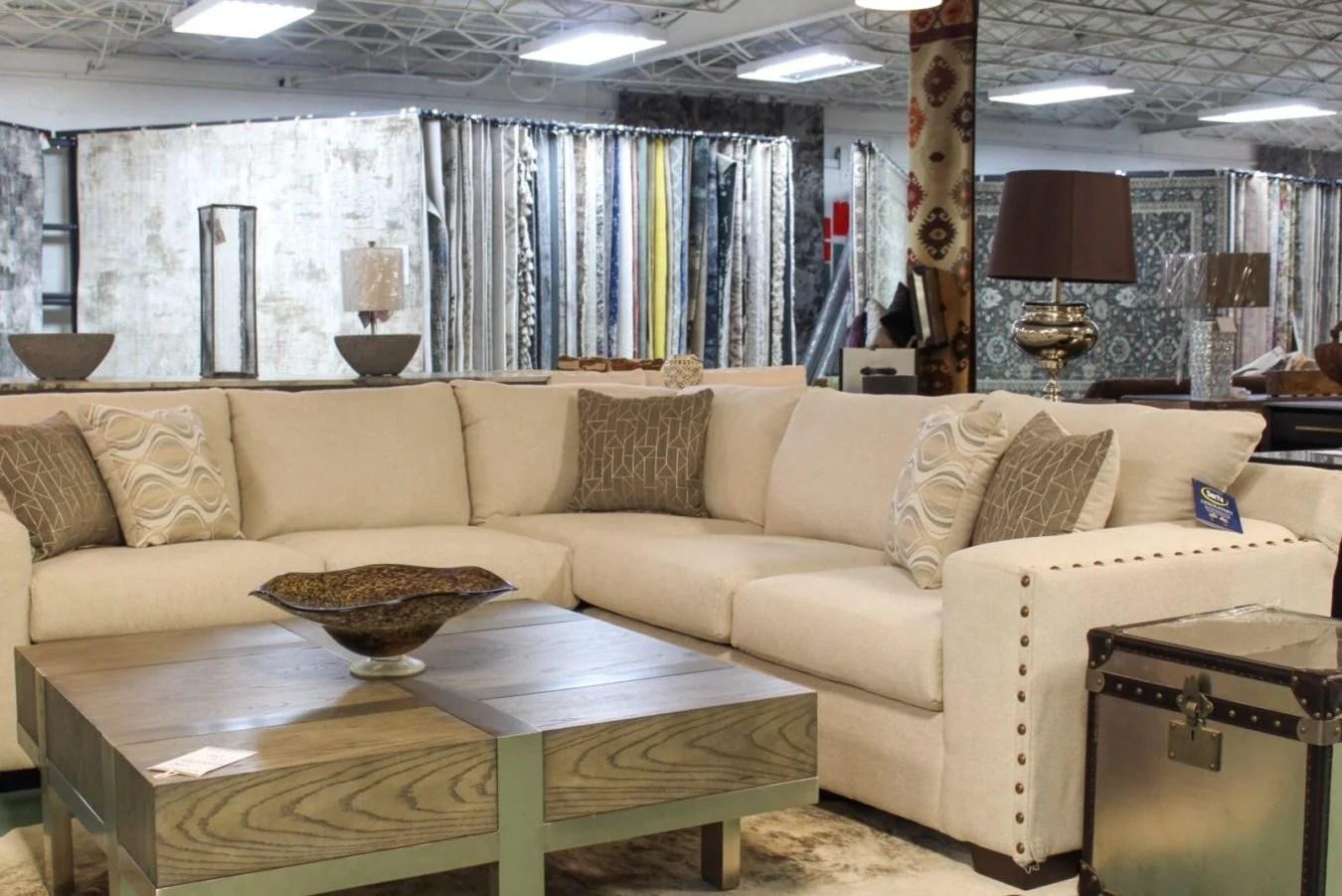 portofino cream colored sofa