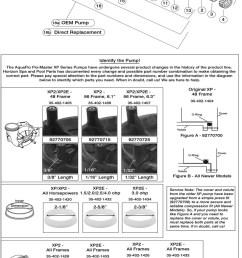 horizon spa u0026 pool parts incflo master xp2e include unions pump  [ 850 x 2105 Pixel ]