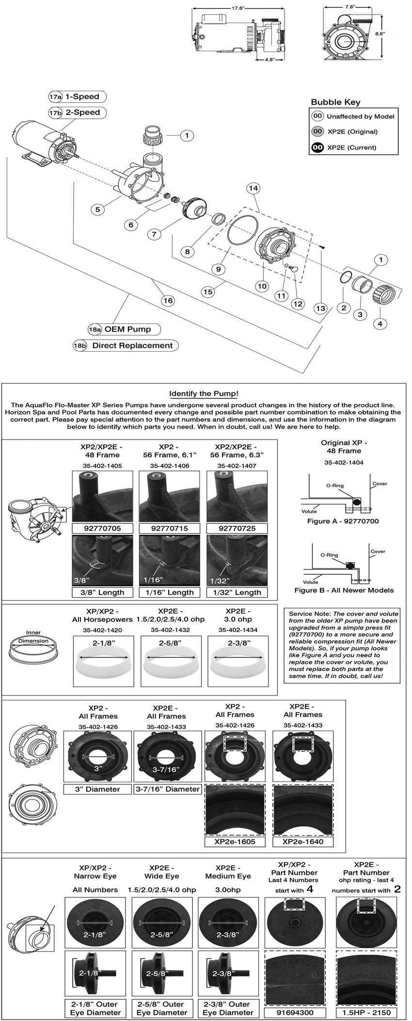 hight resolution of horizon spa u0026 pool parts incflo master xp2e include unions pump