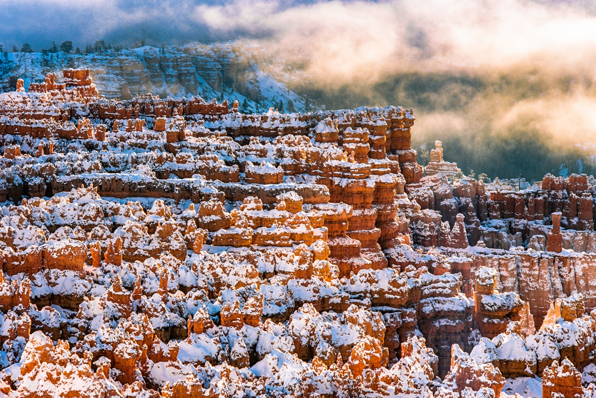 Bryce Canyon Photography Workshop.  Bryce Canyon in Winter.