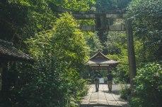 A shrine along the Philosophers Path.