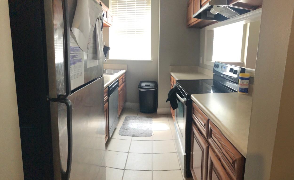Student Apartment - Kitchen