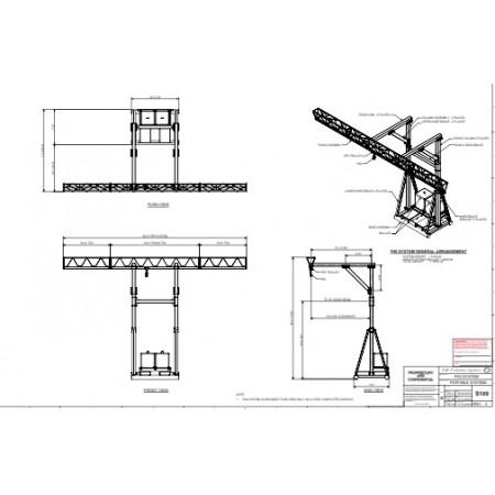 #FPS.Possum40: P40 Portable Tri-Truss Horizontal Beam Rail