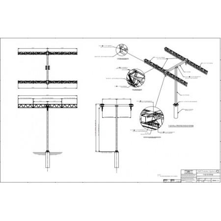 #FPS.T40: T40 Tri-Truss Horizontal Beam Rail System 40