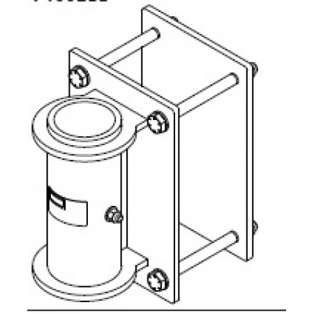 #DB.7400211: SecuraSpan Clamp on Vertical Base Stanchion