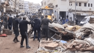 Photo of حالة الطوارئ.. السلطات تهدم سوقا عشوائيا بالبرنوصي بالبيضاء