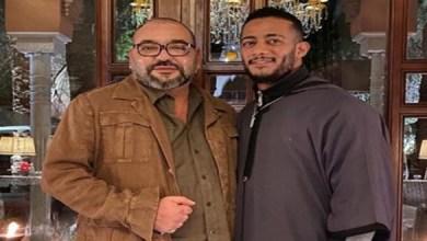 Photo of تفاعل كبير مع صورة محمد رمضان والملك محمد السادس