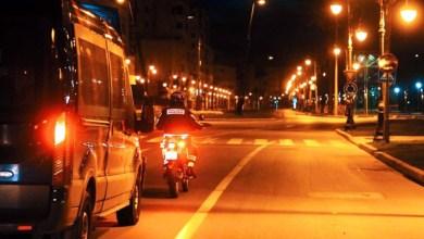 صورة بعد دخوله حيز التنفيذ.. سلطات مراكش تنزل للشوارع لفرض حظر التجول الليلي