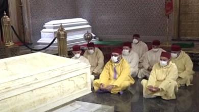 صورة في الذكرى الـ22 لرحيله.. الملك يترحّم على روح والده الحسن الثاني