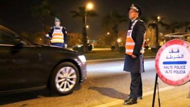 """صورة بعد فرض حظر التجوال الليلي بـ""""كازا"""".. أعوان السلطة وعناصر الشرطة يجوبون شوارع البيضاء"""
