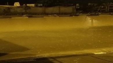 """صورة على غرار """"كازا"""".. أحياء تغمرها المياه بتمارة"""