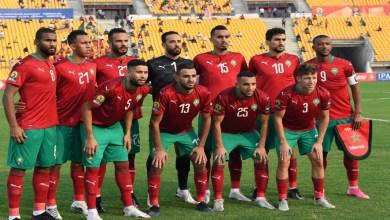 """صورة """"نريد إهداء الفوز للجماهير المغربي.. ونعلم أنها تنتظر منا الكثير"""""""