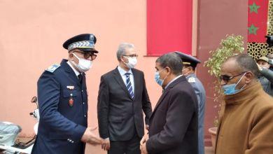 صورة والي جهة مراكش أسفي يشرف على افتتاح المقر الجديد لدائرة الشرطة في إيزيكي