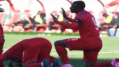 """صورة في مباراة لم تُبث """"تلفزيونيا"""".. المنتخب المحلي ينتصر بهدف دون رد على غينيا"""