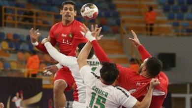 """صورة بأمل """"ضئيل"""" في التأهل.. المنتخب المغربي يواجه إيسلندا في """"مونديال"""" كرة اليد"""