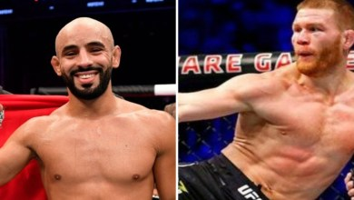 """صورة قبل يوم من نزاله المرتقب.. مسؤولو """"UFC"""" يقررون """"طرد"""" أبو زعيتر من المنظمة"""