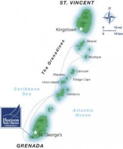One Week St Vincent Sailing Itinerary To Grenada With Horizon