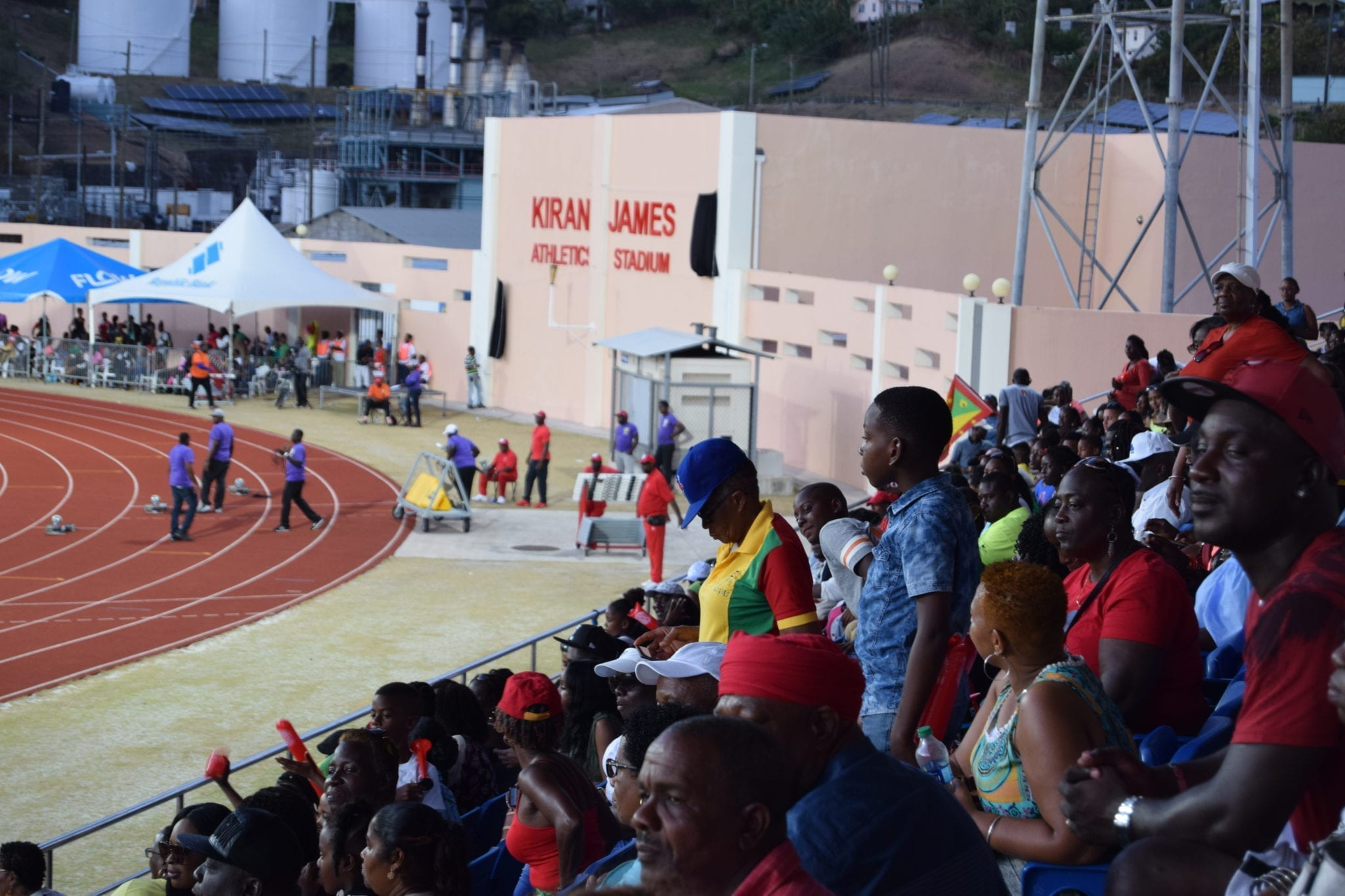 Olympic Gold Medalist On Show At Grenada Invitational