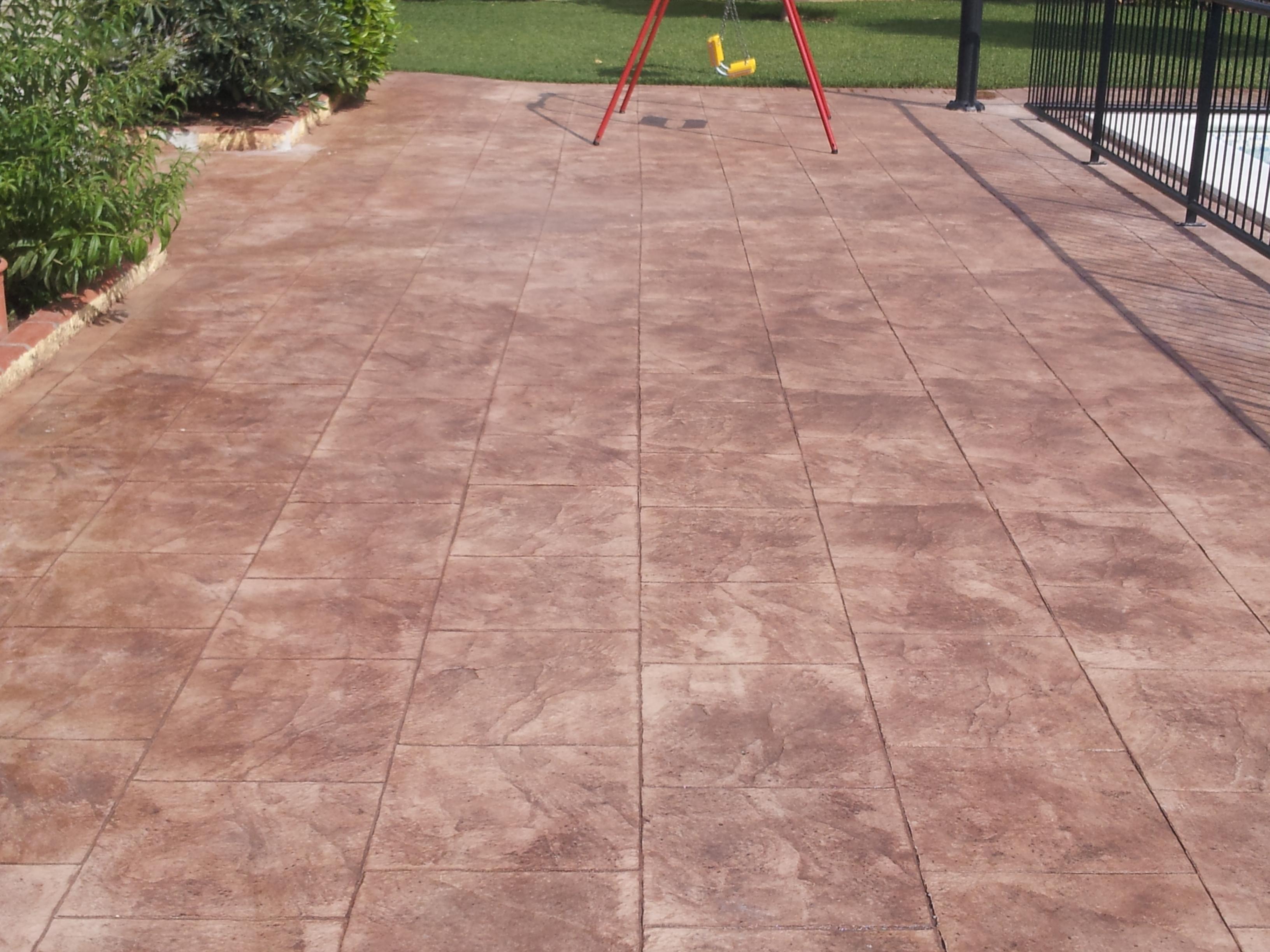 Piastrelle cemento stampato mattonelle in cemento finta pietra