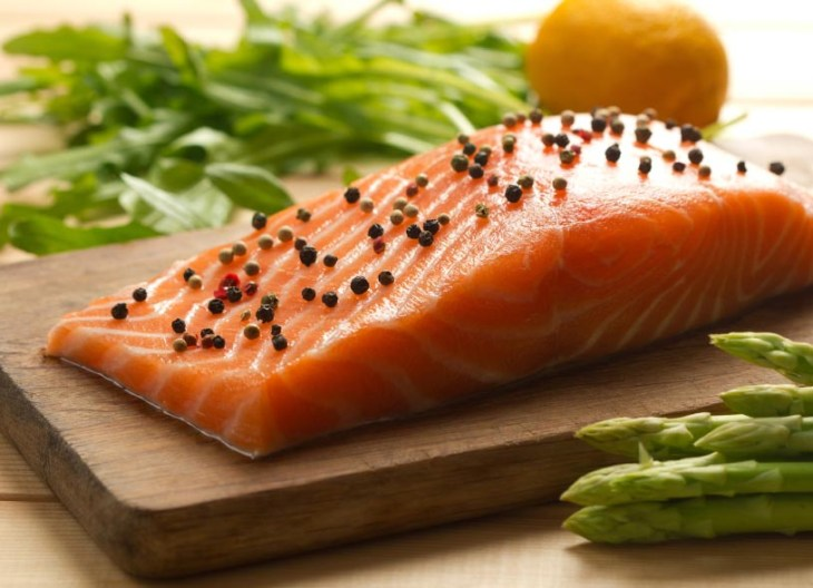 fresh salmon is a good source of omega-3 fatty acids for your diet