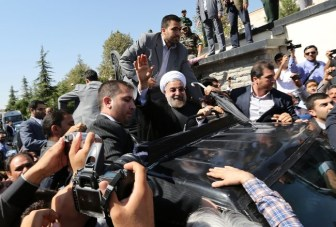 Iranian President, Hassan Rouhani
