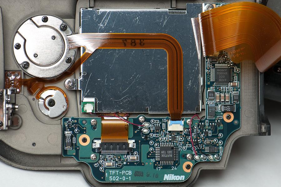 D2H LCD circuit board
