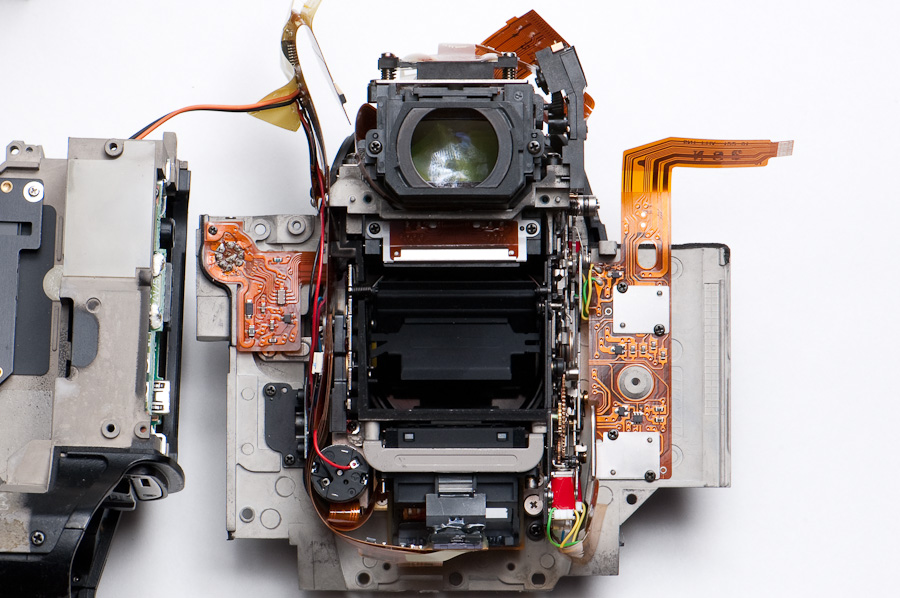 D2H optics assembly
