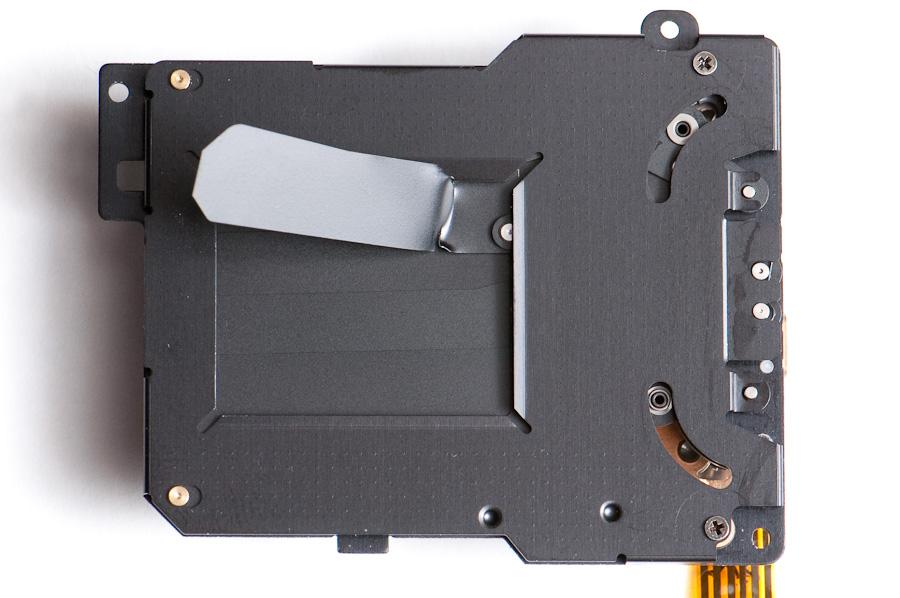Damaged D2H shutter