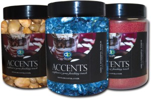 ACCENTS cutout 3 tubs