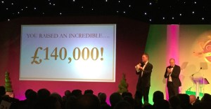 £140,000 raised