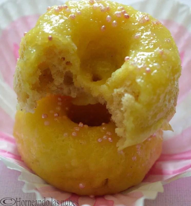 Minidonuts de limón