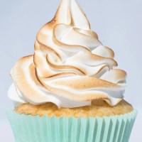 Cupcakes de limón y merengue