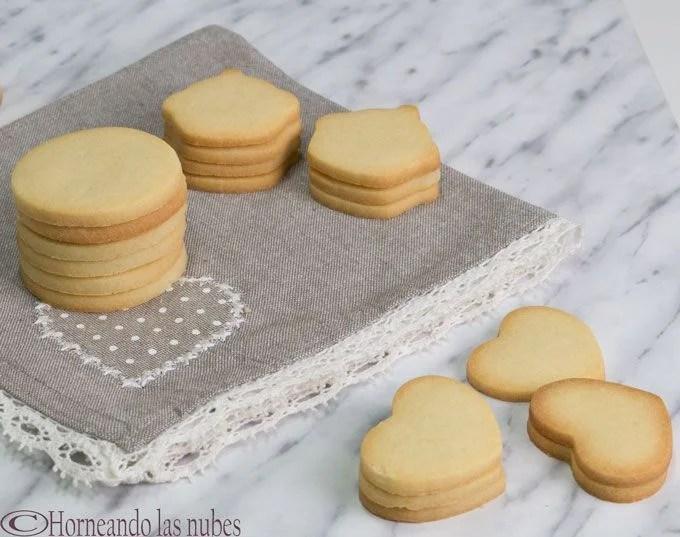 galletas variadas, de masa de galletas para decorar