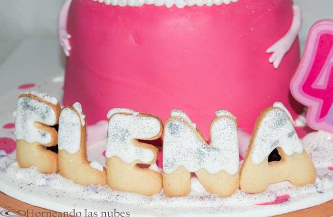 Elena en galletas