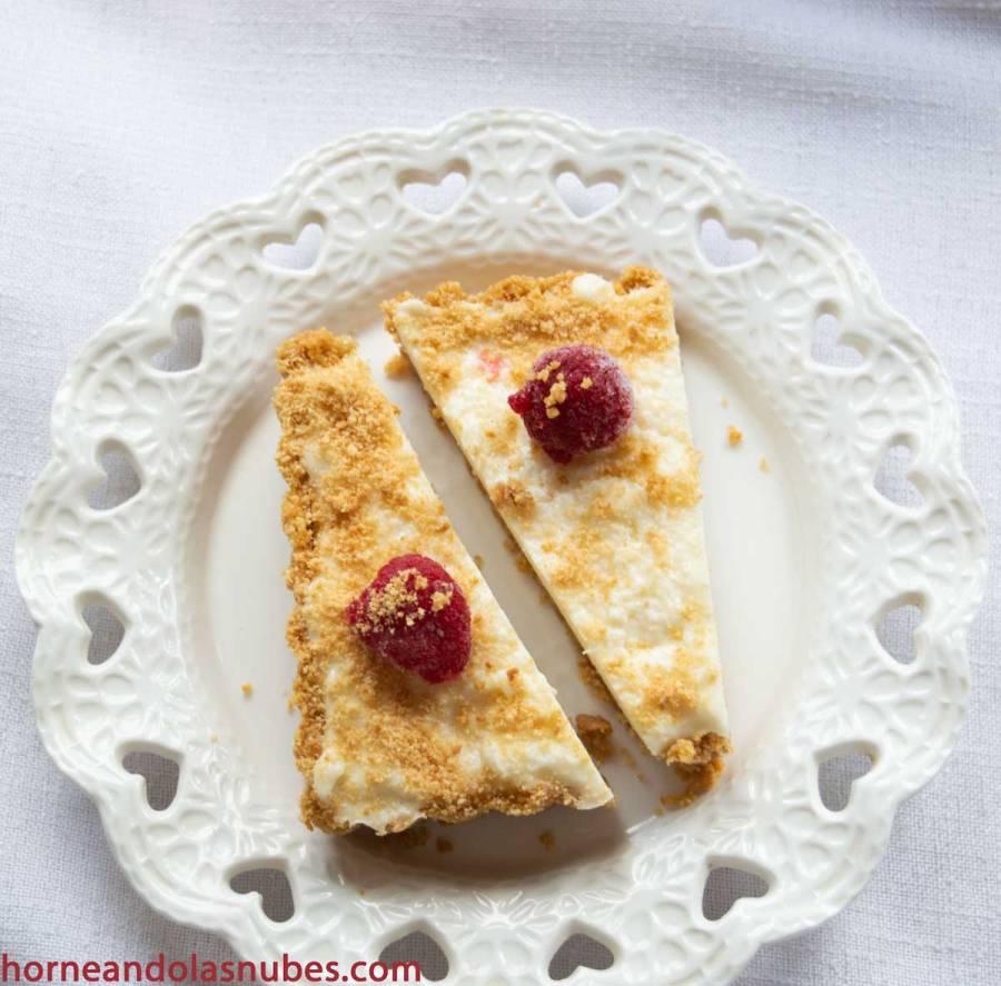 Tarta de queso y leche condensada
