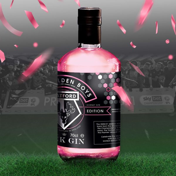 Hornet Pink Gin side view